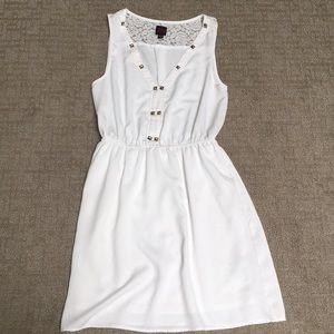 2b Bebe white dress
